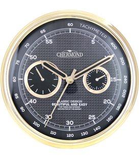 Zegar kwarcowy analogowy Chermond 9836