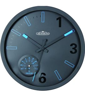 Zegar kwarcowy analogowy Chermond 9845.Ø30.5