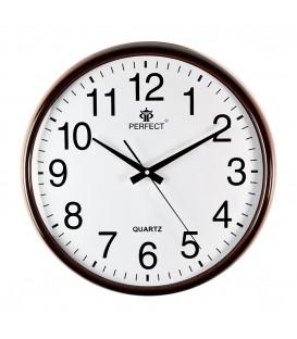 Zegar ścienny analogowy FX-830 Q4 brown