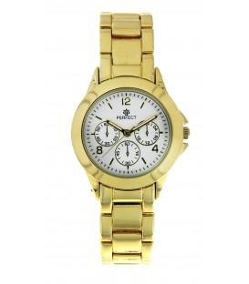 Zegarek kwarcowy Perfect G 429 PNP biała tarcza 3 koła