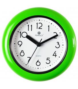 Zegar analogowy Perfect FX 019 zielony