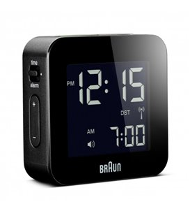 Budzik turystyczny LCD Braun BNC008BK Radio Controlled