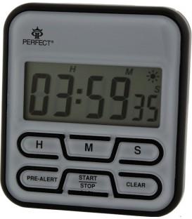 Minutnik LCD Perfect TM 83 czarno-srebrny