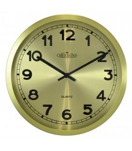 Zegar ścienny analogowy Chermond 7120 CG złoty Ø 30.5