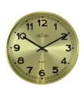 Zegar ścienny analogowy Chermond 9737 CG złoty Ø 25