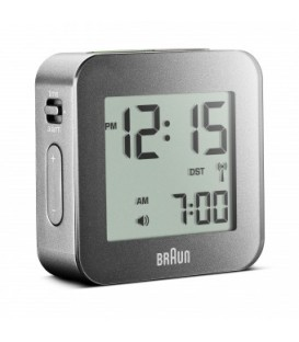 Budzik turystyczny LCD Braun BNC008GY Radio Controlled