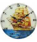 Zegar ścienny analogowy HDG418 Ø 30.0