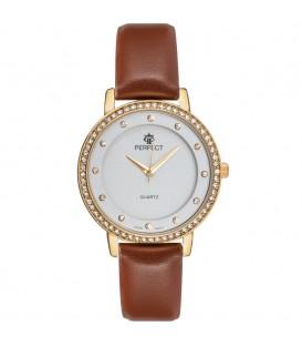 Zegarek Perfect B7242 IPG brązowy pasek