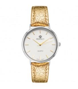 Zegarek Perfect B7321 IPS złoty pasek