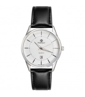 Zegarek Perfect B7322 IPS brązowy pasek