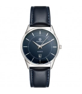 Zegarek Perfect B7322 IPS czarny pasek czarna tarcza